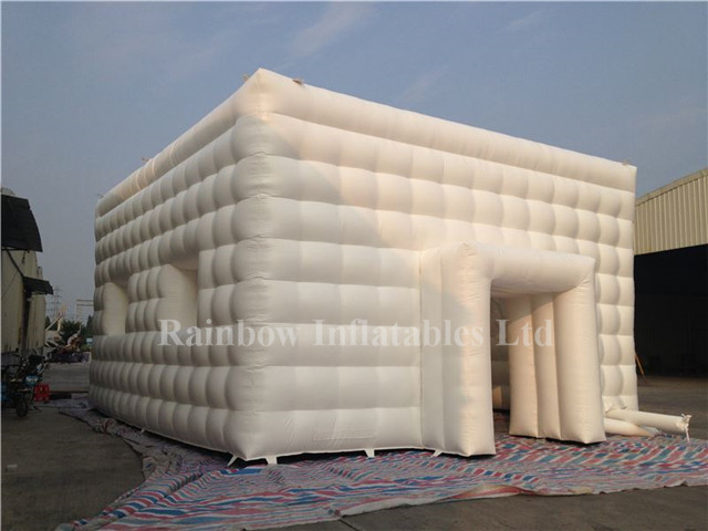 Outdoor Commercial Inflatable Cube Bubble Tent Lawn Tent for Events
