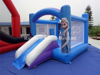 Outdoor Commercial Children's Inflatable Frozen Castle