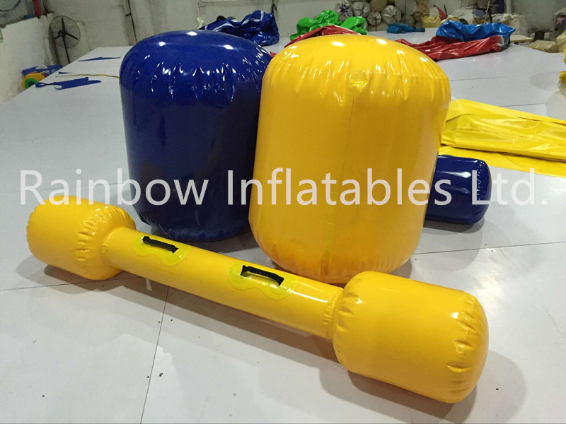 RB9098(8x5.5x1m) Inflatable Gladiator Sport Game/customized inflatable interactive games
