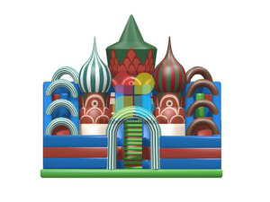 RB04153(10x8.5x8m) Inflatables castle funcity with slide new design