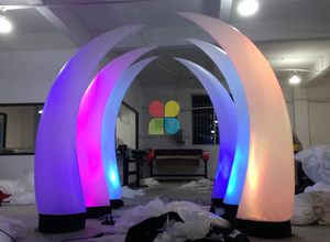Inflatable LED Lighting Inflatable Columns Pillars Horns for Party And Wedding
