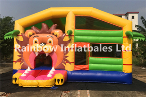 RB3095(6x5.5m)Inflatables lion theme combo
