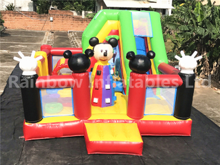 Best Commercial Inflatable Mickey Mouse Playground for Kids