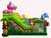 RB01025(7x5m ) Inflatable Popular Jungle Animal Slide for Kids and Children/ Inflatable High Slide