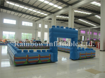RB20024-1(7x9m)Inflatable Fence And Track For Sport For Children Park