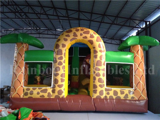Big Commercial Inflatable Jungle Forest Theme Playground for Kids
