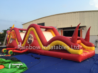 RB5039(15x3.6x4.2m)Inflatable Rainbow New Design Dragon Jumping Obstacle