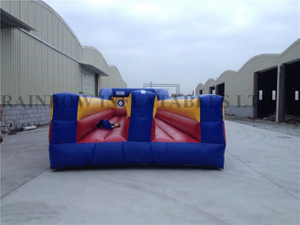 RB9050(10.5x3.5x2m) Inflatable Dounble line bungee run sport game