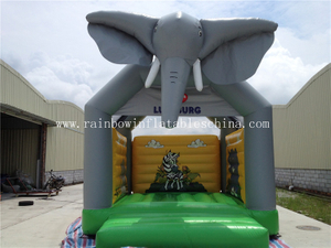 Mini Animal Theme Home Inflatable Bouncers for Children