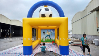 Outdoor Durable Customized Inflatable Shooting Game Soccer Goal for Kids