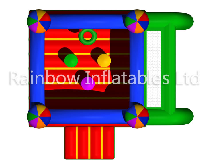 RB02016(4.7x4.5x3.5m)Inflatable Castle With Sport Game for sales