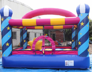 Pink Infaltable Bouncy Castle