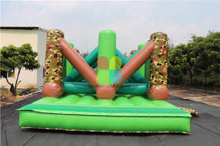 Best Seller Outdoor Largest Commercial Inflatable Obstacle Course For Adults