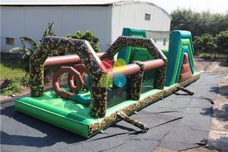 Wholsale Giant Commercial Inflatable Inflatable Obstacle Course For Adults