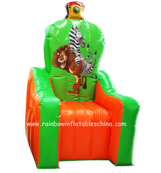 RB20006-3(2.2mh) Inflatable Rainbow party chair