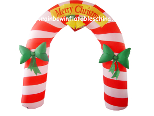RB20022(2x2m) Inflatable rainbow Arch for Christmas