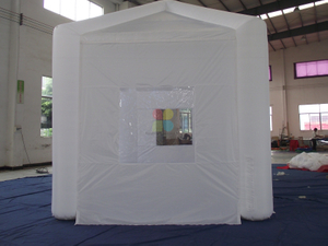Small Portable Square Inflatable Event Tent Trade Show Tent