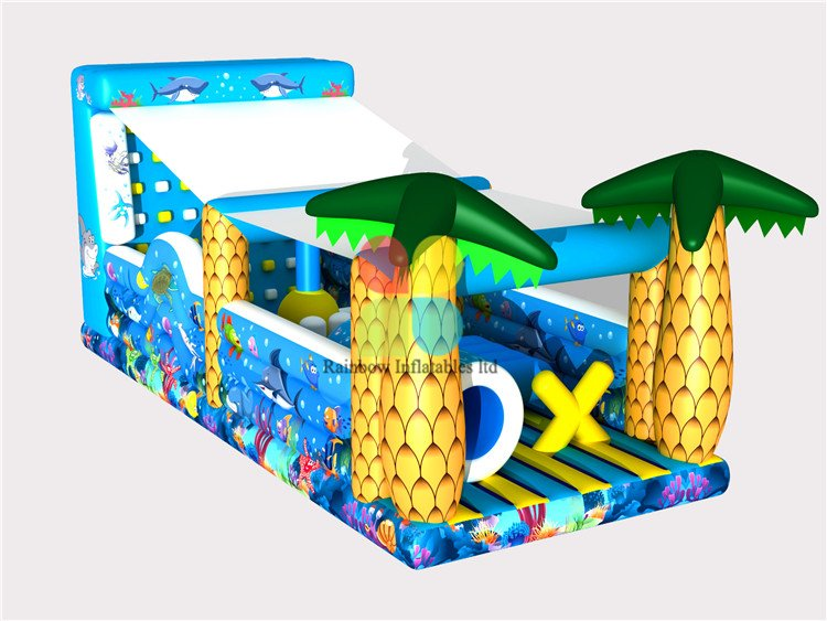 RB5066(12x5x5m)Inflatable giant water slide for children and adult