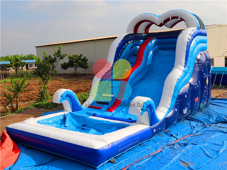 High Quality Commercial Inflatable Crazy Wave Theme Water