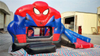 Outdoor Commercial Inflatable Spiderman Combo for Kids