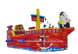 RB11002(5x3m)Inflatable New Arrival Pirate Boat for sale