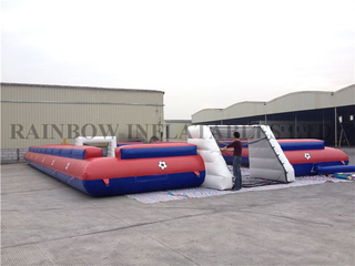 RB10021(20x10m)Inflatable human table football field for sale