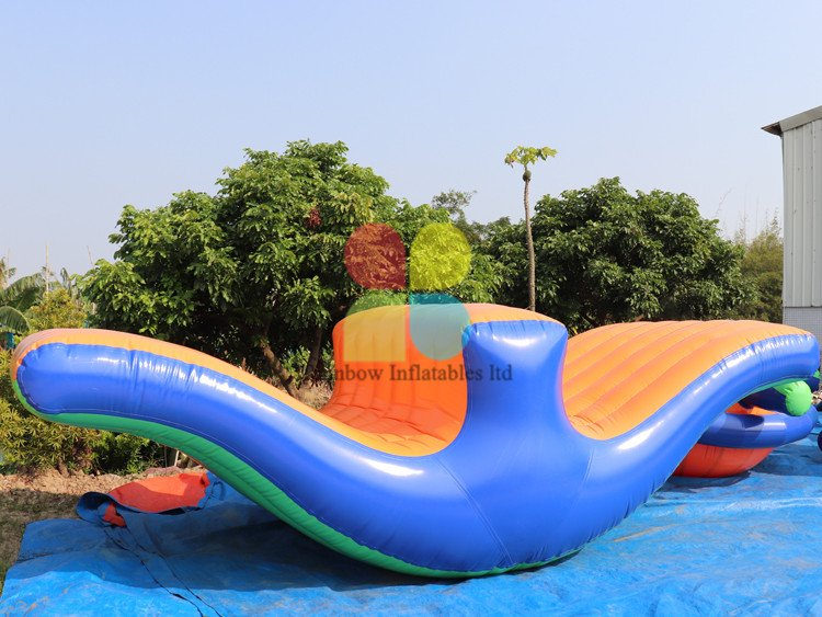 Hot Sale Commercial Inflatable Water Game Water Seesaw Toys Moving Up And Down