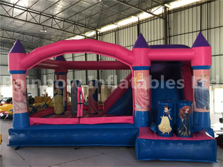 Mini Outdoor 2 in 1 Inflatable Princess Combo for Children