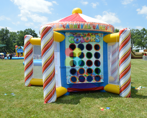 Party Rental Inflatable Combination Combo Sports Games 5 in 1 Carnival Inflatables