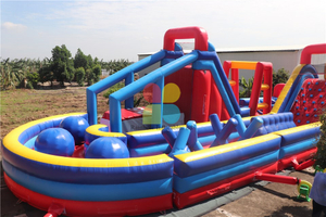 Huge Inflatable Obstacle Course for Sale Commercial Inflatable Obstacle Course For Adults