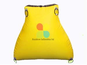 Small Portable Inflatable Paintball Bunker Game for Sale