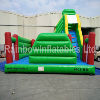 Large Commercial Inflatable Pure Color Bounce Playground for Children