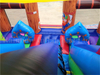 Outdoor Commercial Inflatable Pirate Captain Bounce Playground for Children