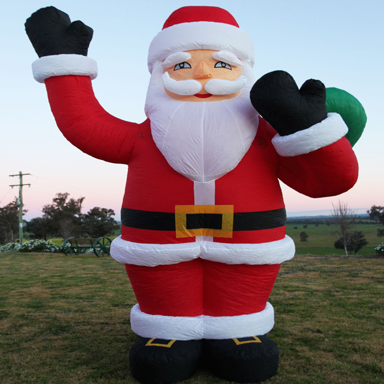 inflatable santa man