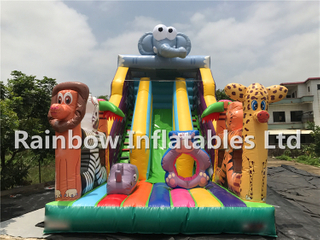Best Quality Outdoor Commercial Inflatable Animal Theme Slide