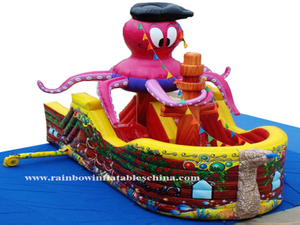 RB11006(6.5x4m)Inflatables Octopus theme pirate ship