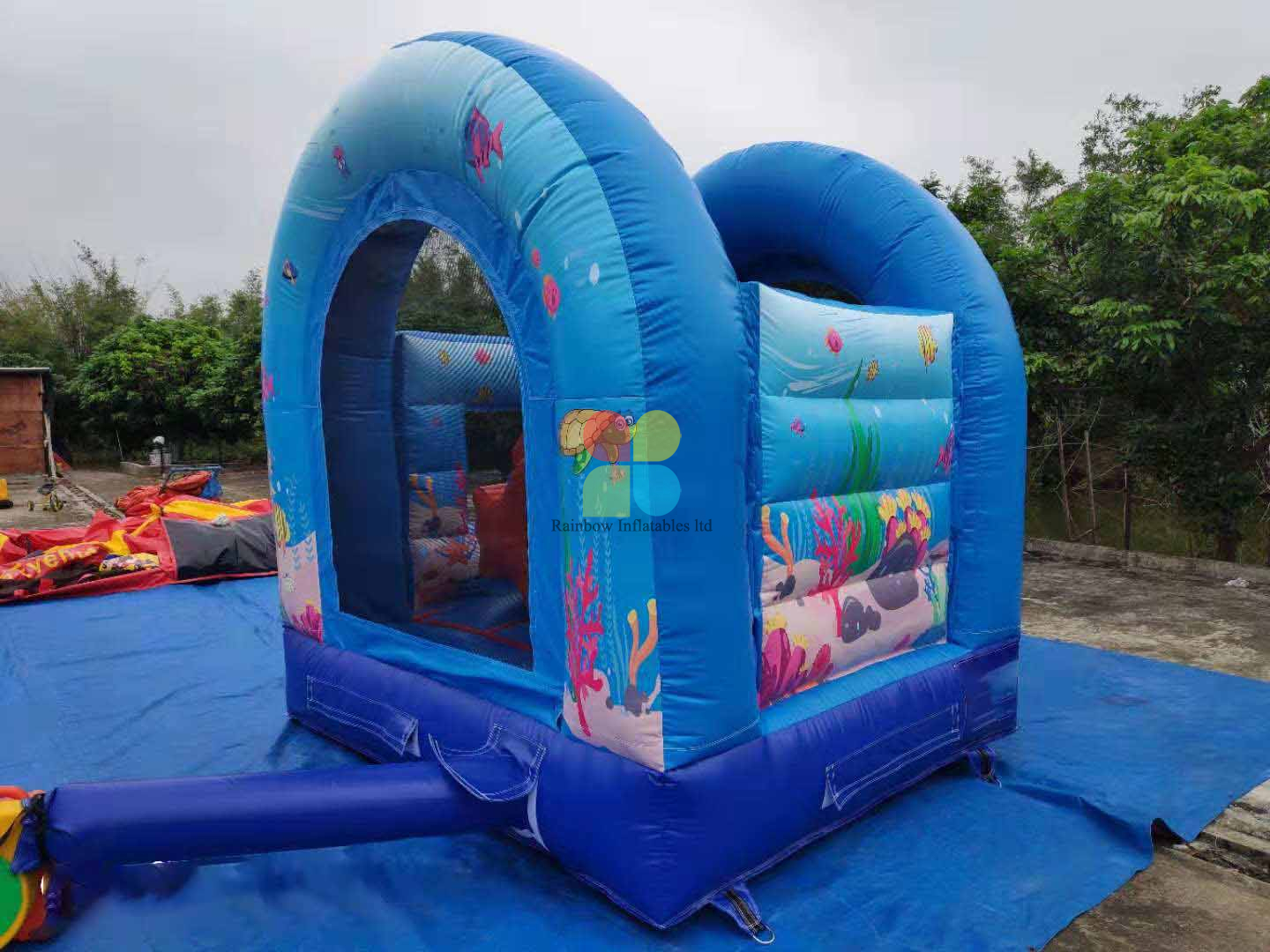 Inflatable under Sea Bouncer