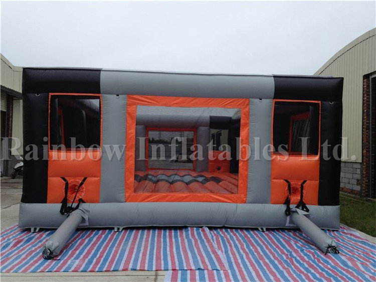 Large Indoor Durable Football Game Basketball Game Bungee Run for Sale