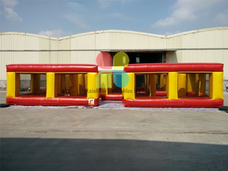 High Quality Outdoor Commercial Inflatable Maze Course for Children
