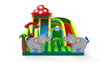 Mushroom House Toddler Inflatable Obstacle Course