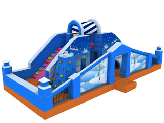 Multifunctional Outdoor Inflatable Playground Fun World for Kids