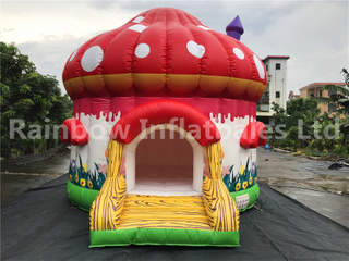 Outdoor Commercial Mushroom Shape Inflatable Bouncers