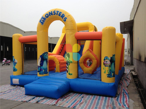 Commercial Inflatable Moster Combo