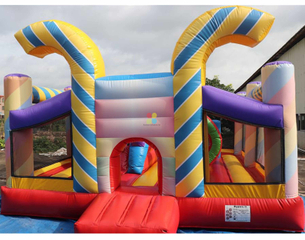 China Manufacturer And Supplier of Candy Inflatable Bounce House