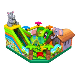 Rainbow New Design Inflatable Elephant Animal Fun Park