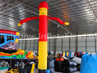 RB23042(4mh)Inflatables yellow and red Air Dancer for adv