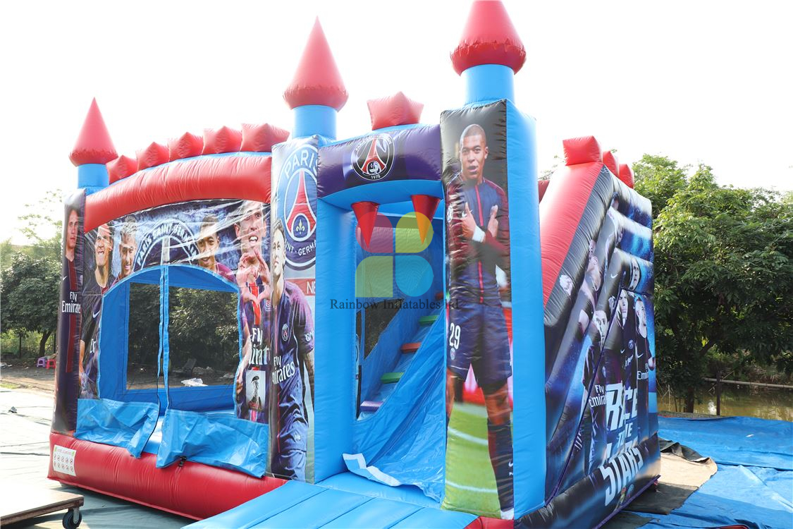 Best football baby inflatable bouncer