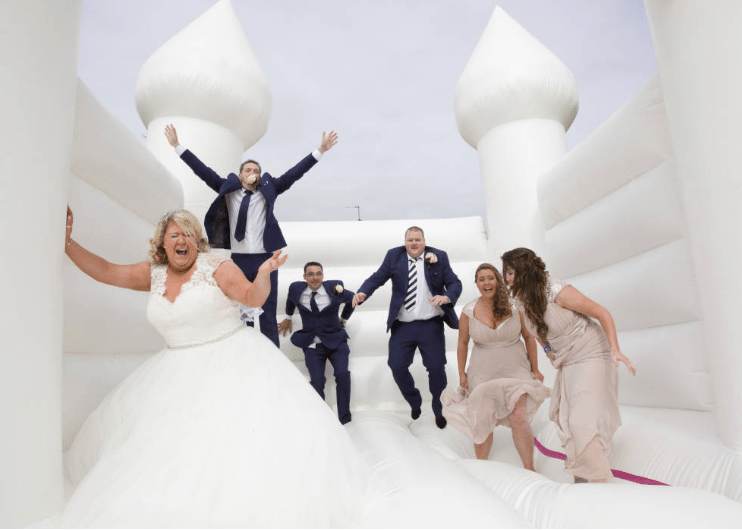 romantic Inflatables for wedding
