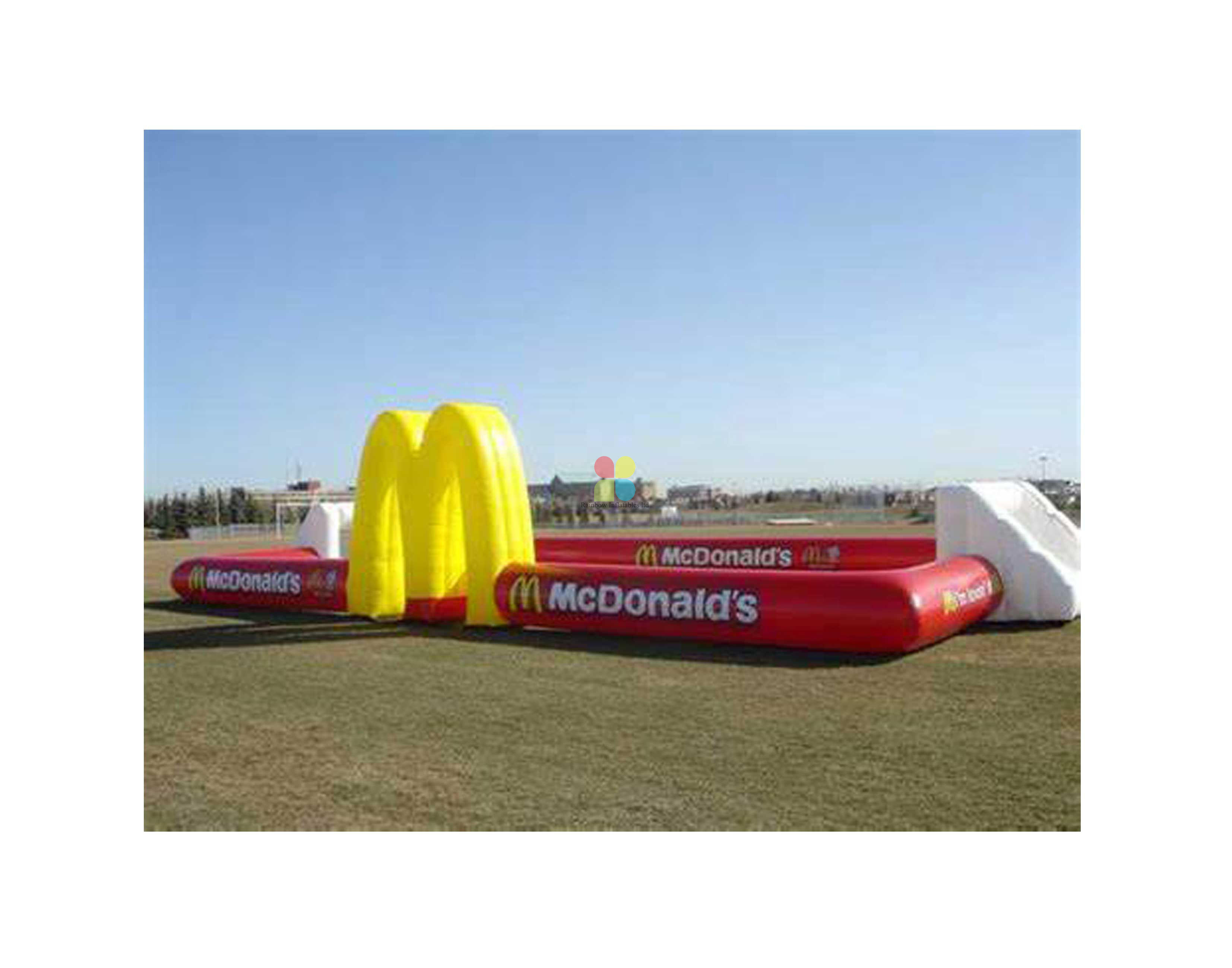 Inflatable Football Game Court for Backyard