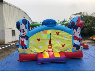 Inflatable Mouse Bouncy Castle for Kids, Outdoor Inflatable Jumping House